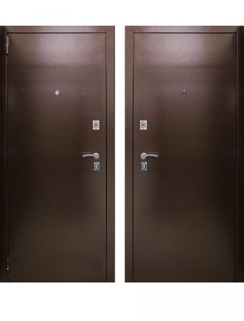 Дверь ЦСД Хит мет/мет