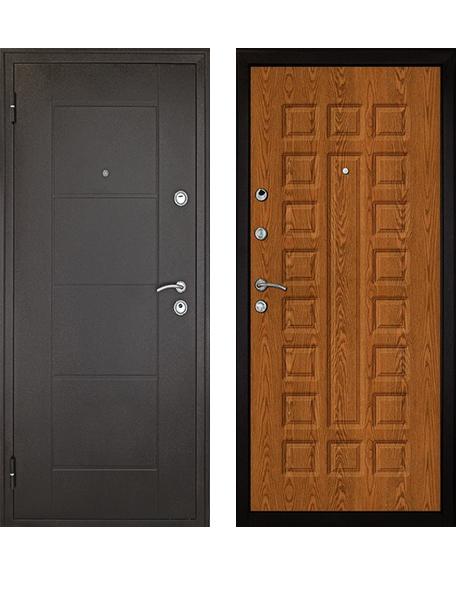Дверь Дверной Континент Квадро дуб золотой