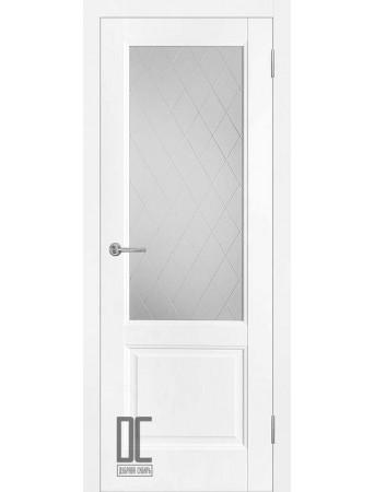 Дверь Лира ПО White Софт тач