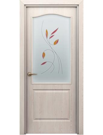 Дверь Бэта ПО Витраж Дуб паллада