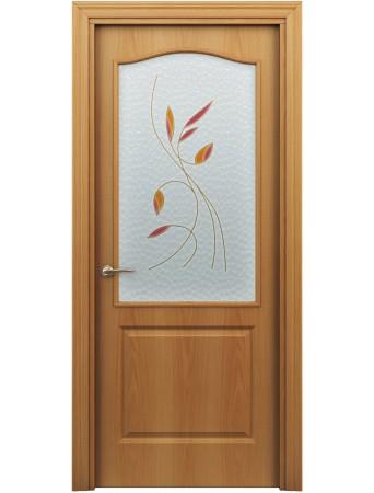 Дверь Бэта ПО Витраж Миланский орех