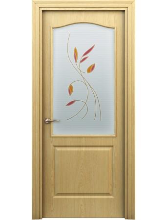Дверь Бэта ПО Витраж Светлый дуб