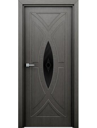Дверь Тэта ПО Серая