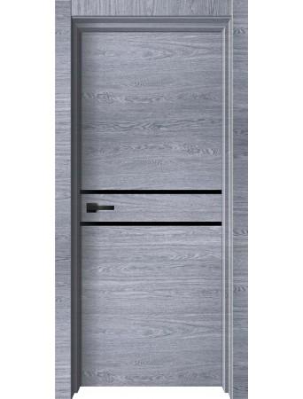 Дверь WOOD-2 ПГ Грей