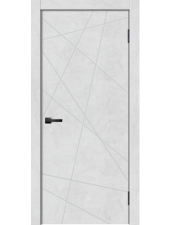 Дверь GEO-1 Бетон снежный