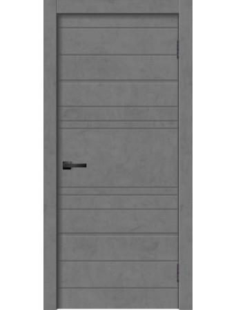 Дверь GEO-2 Бетон графит