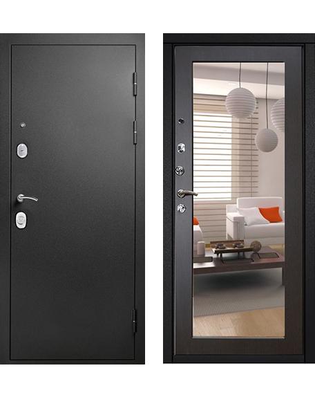 Дверь Гарда S1 Муар зеркало венге