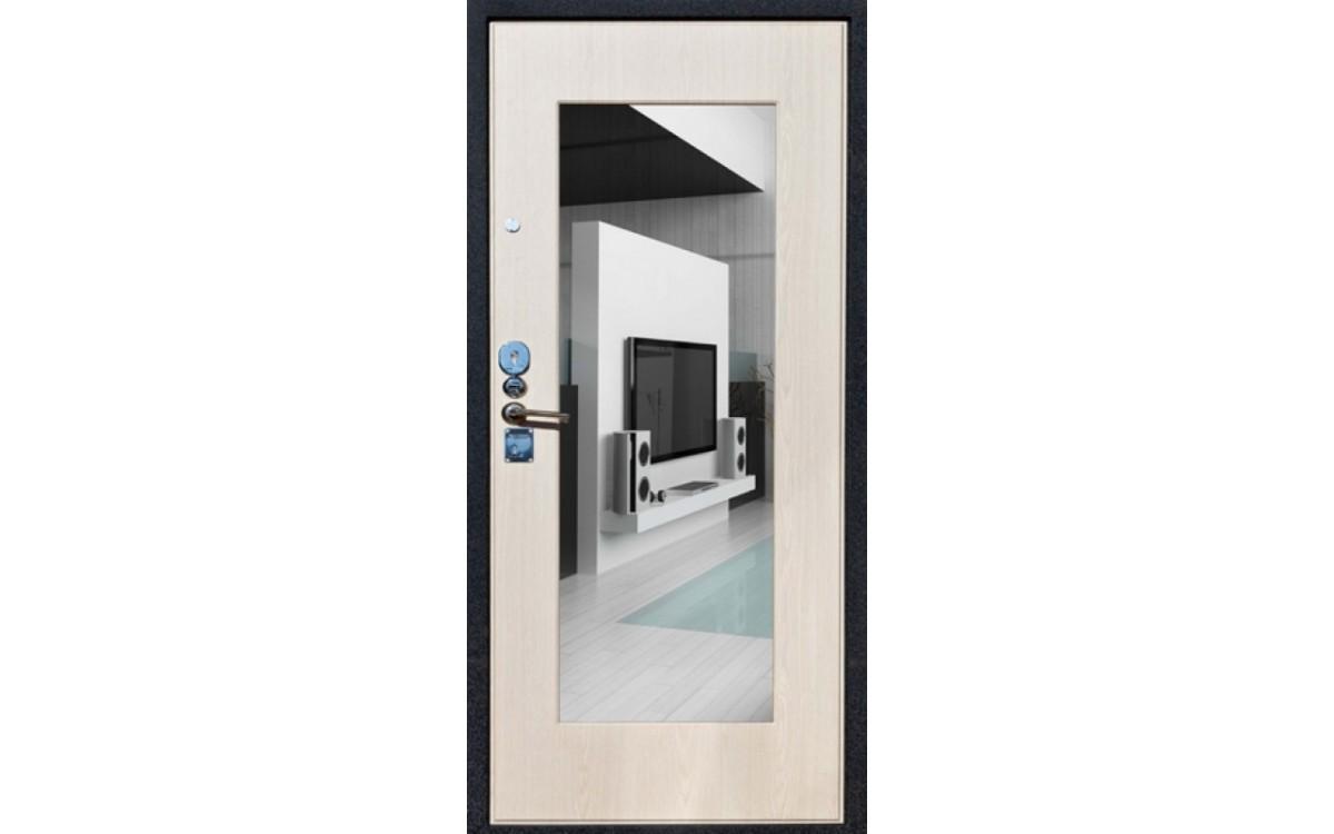 Входные двери с зеркалом - плюсы и минусы
