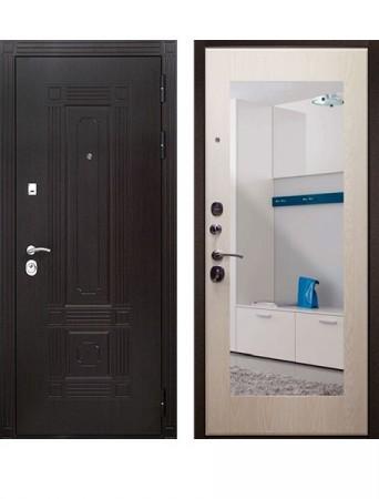 Дверь Кондор Мадрид Зеркало Беленый дуб