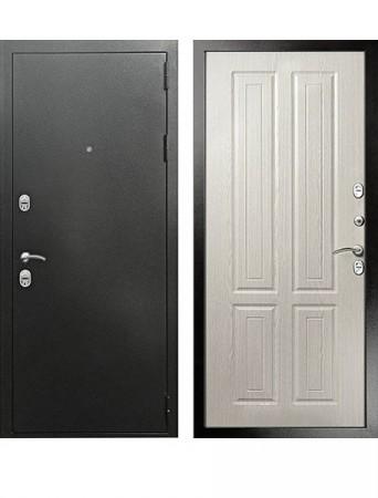 Дверь Кондор Терморазрыв Серебро Беленый дуб