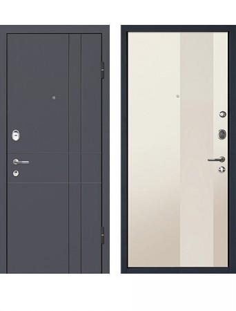 Дверь МеталЮр М16 Магнолия