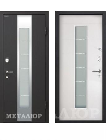 Дверь МеталЮр М35 Белый малибу