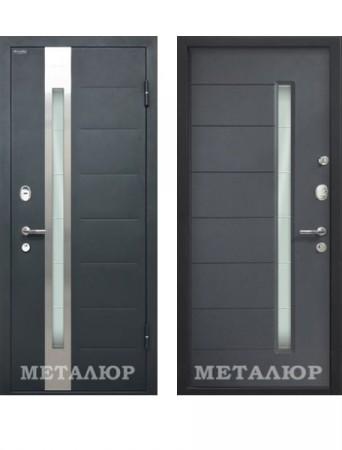 Дверь МеталЮр М36 Антрацит