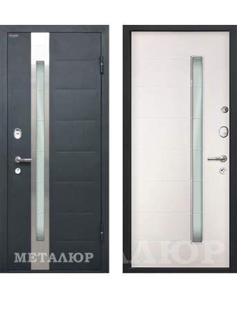 Дверь МеталЮр М36 Белый малибу