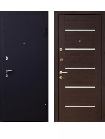 Дверь МеталЮр М41 венге