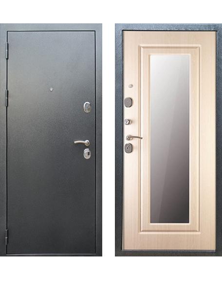 Дверь Сударь МД 26 Серебро зеркало
