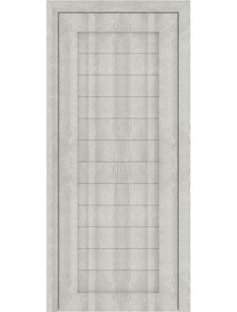 Дверь М01 Дуб Неаполь серый