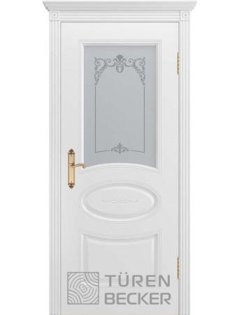Дверь Прованс В1 ПО Белая