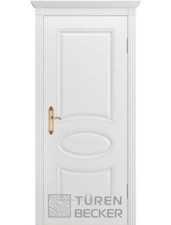 Дверь Прованс В1 ПГ Белая