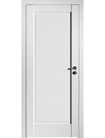 Дверь 100U ПГ Белый матовый