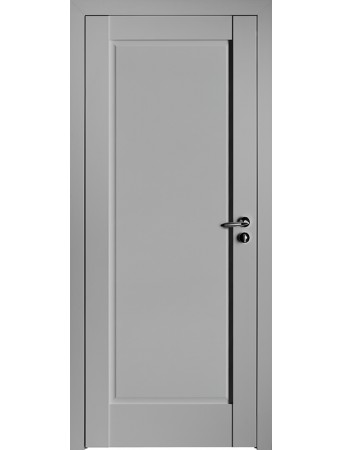 Дверь 100U ПГ Светло-серый