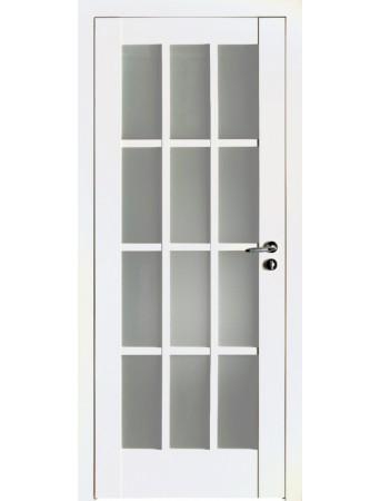 Дверь 102U ПО Белый матовый