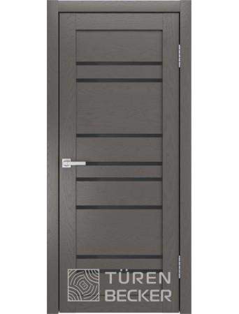 Дверь S53 ПО Ясень графит