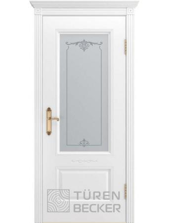 Дверь Венеция В1 ПО Белая