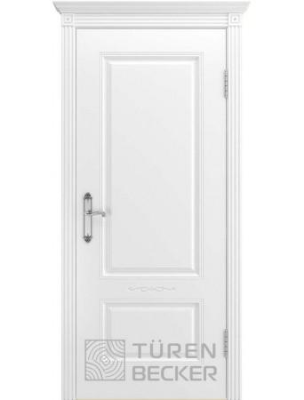 Дверь Венеция В1 ПГ Белая