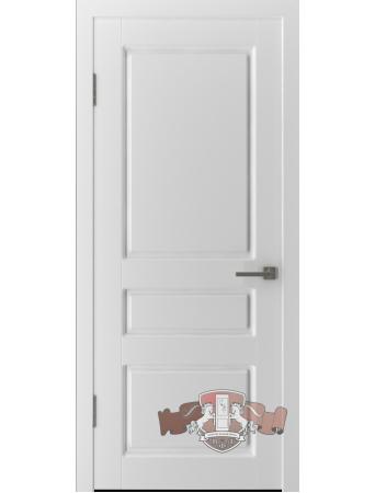 Дверь Честер 15ДГ0 Белая эмаль