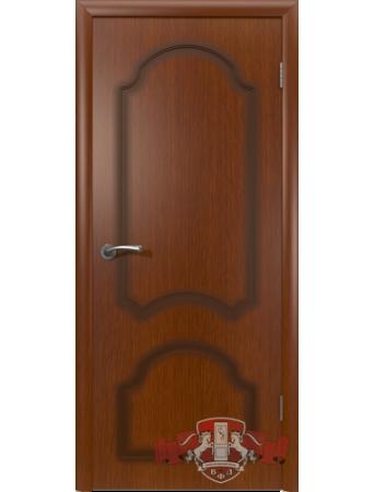 Дверь Кристалл 3ДГ2 Красное дерево