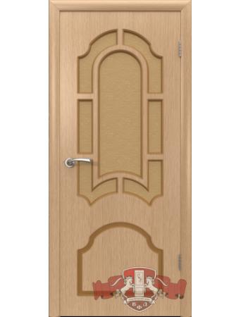 Дверь Кристалл 3ДР1 Светлый дуб
