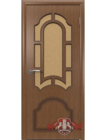 Дверь Кристалл 3ДР3 Орех