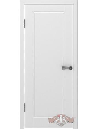Дверь Порта 20ДГ0 Белая эмаль