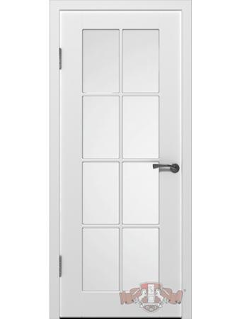 Дверь Порта 20ДО0 стекло Белая эмаль