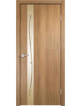 Дверь Smart Z1 Дуб золотой зеркало