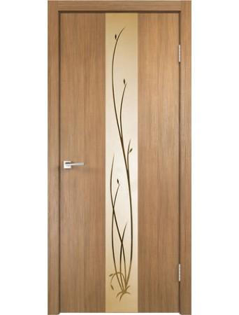Дверь Smart Z2 Дуб золотой зеркало