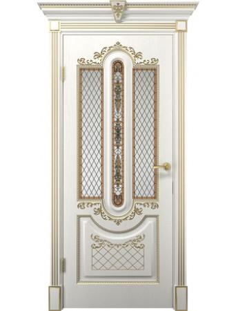 Дверь Олимпия белое дерево ПО