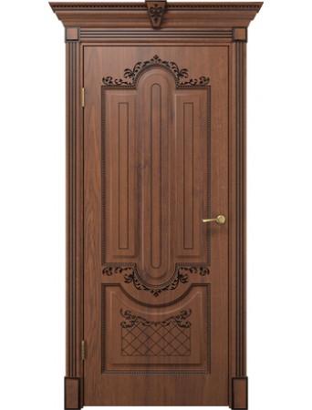 Дверь Олимпия дуб янтарный ПГ