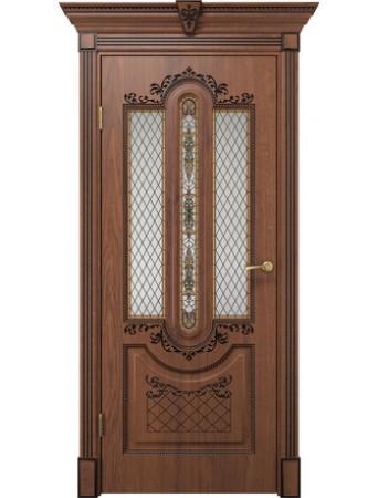 Дверь Олимпия дуб янтарный ПО