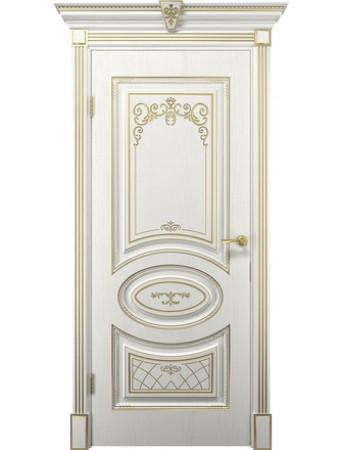 Дверь Вителия белое дерево ПГ