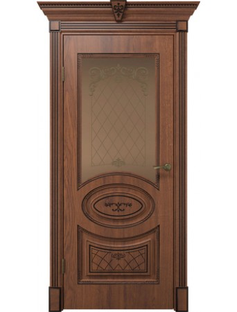 Дверь Вителия дуб янтарный ПО