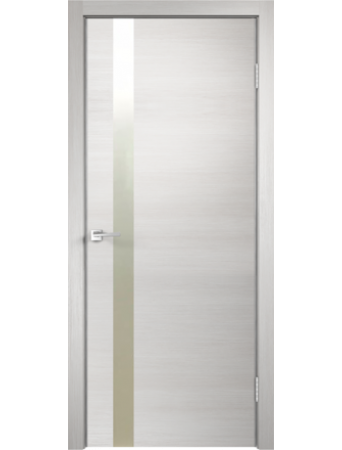 Дверь Techno Z1 Дуб белый поперечный