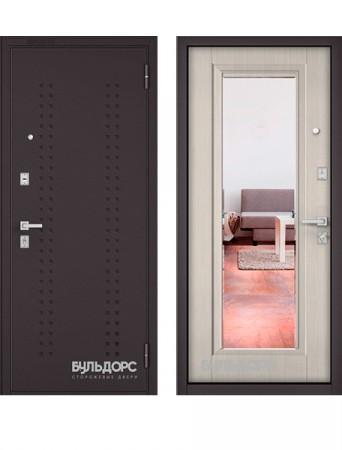 Дверь Бульдорс Mass 70 Зеркало ларче бьянко