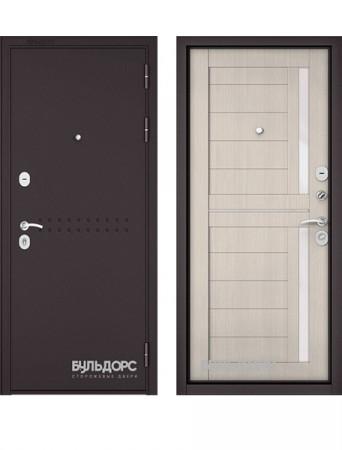 Дверь Бульдорс Mass 90 Букле шоколад