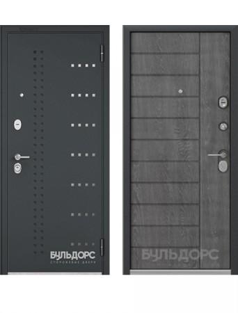 Дверь Бульдорс Standart 70 черный шелк
