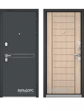 Дверь Бульдорс Standart 90 черный шелк