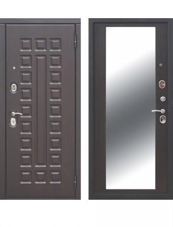 Дверь 10 см Монарх Зеркало Венге