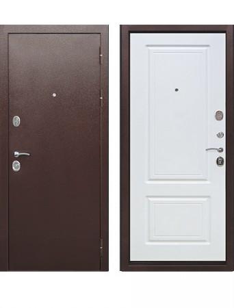 Входная дверь 10 см Толстяк РФ Белый ясень