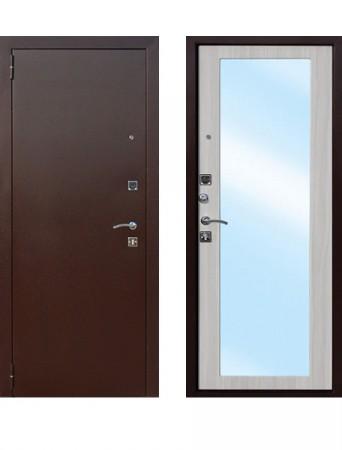 Дверь Царское зеркало MAXI Белый ясень